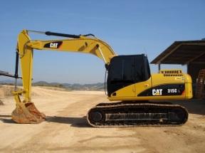 Escavadeira Hidráulica CAT 315C